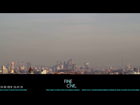 New: Live London: Night Day London Live City Panoramic London Live™ Fine Cine™ ©2018