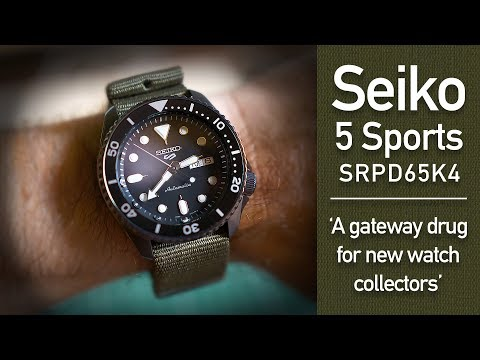 Seiko 5 Sports - SRPD65K4 - A Gateway Drug Into Watch Collecting!