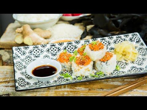Recipe  Ryan Paevey's Homemade Sushi Recipe  Hallmark Channel