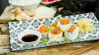 Recipe - Ryan Paevey's Homemade Sushi Recipe - Hallmark Channel