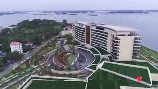 GRAND HYATT, KOCHI BOLGATTY - A Bird's Eye View - ...