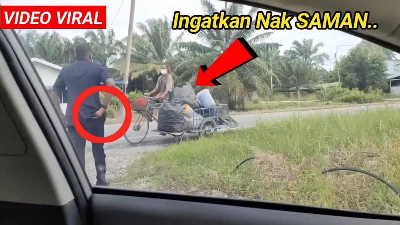 Laju Turun Kereta Ingatkan Nak SAMAN, Rupanya Ini Yang Abang POLIS Buat