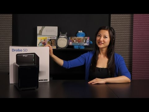 Drobo 5D Direct Attached Storage Device (DAS): Overview + Software Tutorial