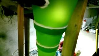 Самодельный пылеуловитель(Самодельный пылеуловитель из цветочных горшков., 2014-02-10T08:01:10.000Z)