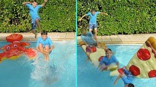 Challenges piscine video for Swan et neo piscine