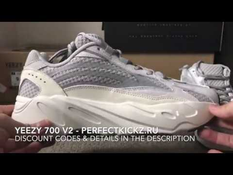 best service 262d3 e80b7 YEEZY 700 V2 Static (Unboxing+Flaws+On Feet)