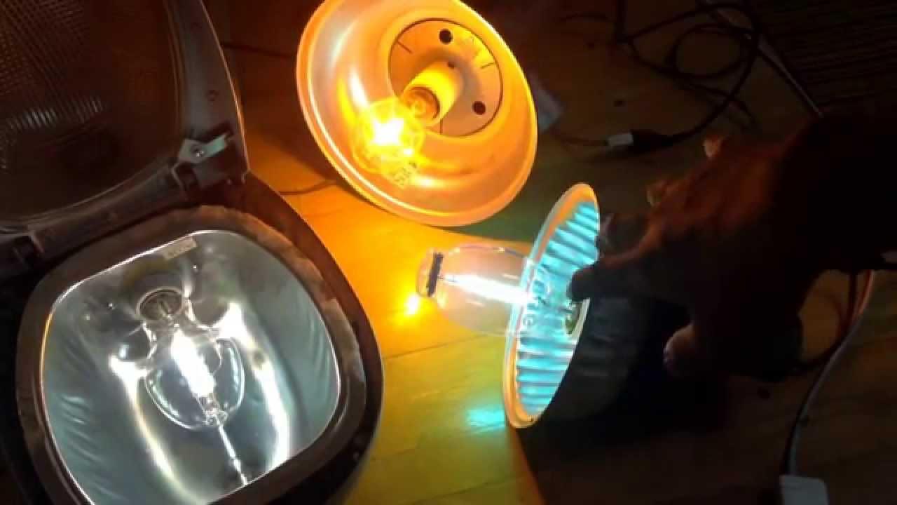 High Pressure Sodium Metal Halide And Mercury Vapor