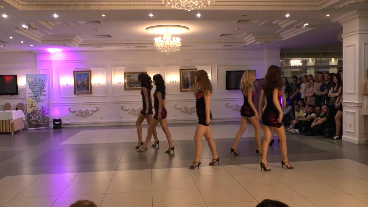 Bachata show - Lago Dance show girls - Salsamayovka 2015