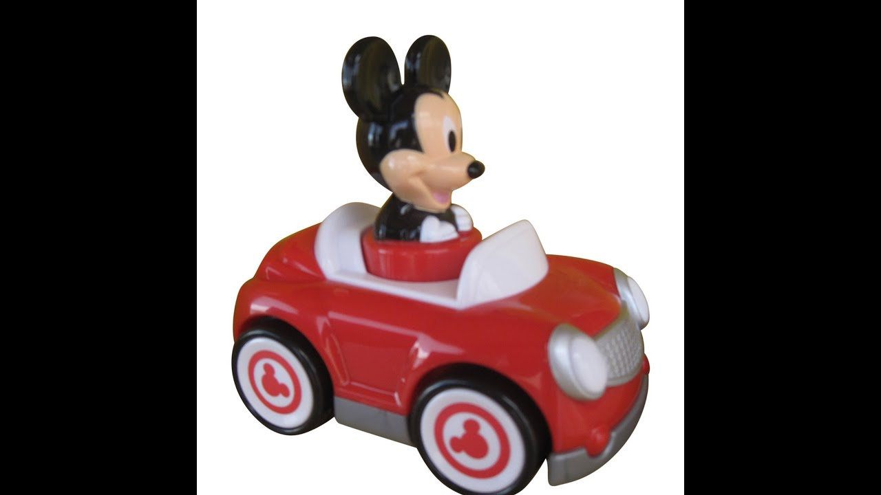 Voiture De Course Disney Mickey Mouse Mouse Push And Go