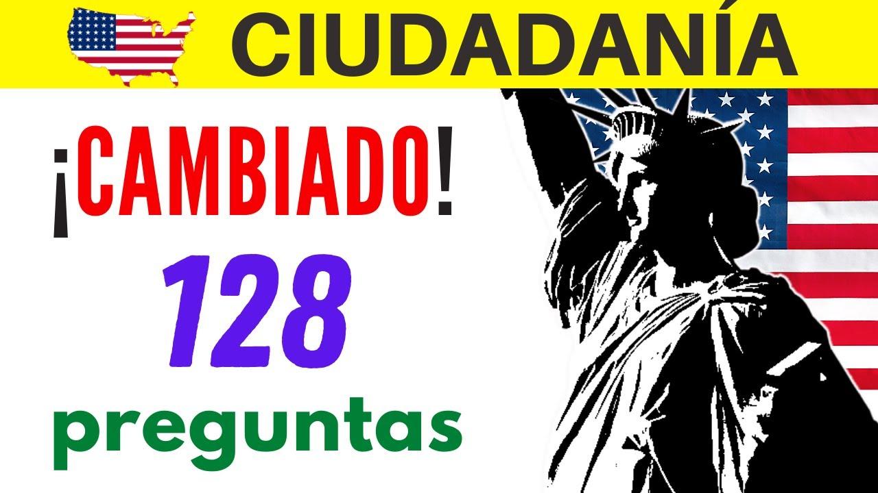 Nuevo Examen De Ciudadanía Americana La Nueva Prueba De Educación Cívica Tiene 128 Preguntas Youtube