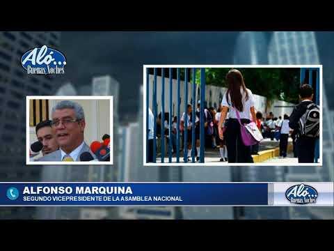 """ALO BN 08/01: ALFONSO MARQUINA: """"NO PODEMOS ENTREGRAR LOS ESCENARIOS DE LUCHA"""". SEG04"""