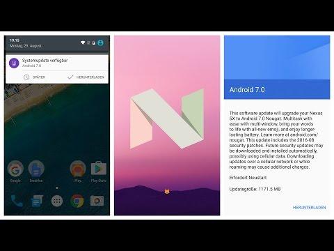 Android 7.0 Nougat - die besten Features und Neuerungen (deutsch)