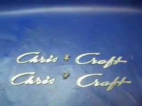 Chris Craft Metal Emblems
