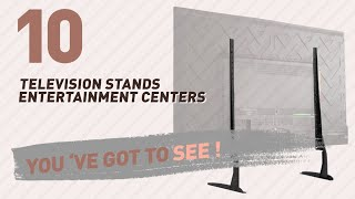Top 10 Television Stands Entertainment Centers // New & Popular 2017