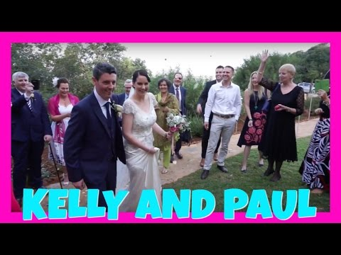 KELLY AND PAUL TIE THE KNOT IN SOUTH AFRICA!