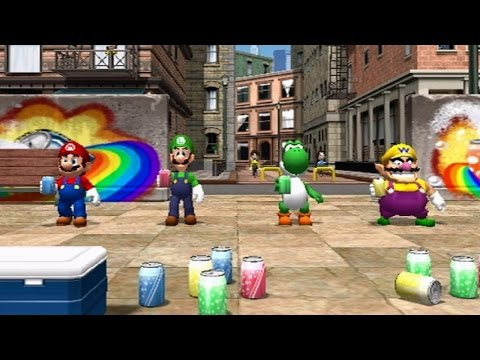 Mario Party 8 - All Mini Games