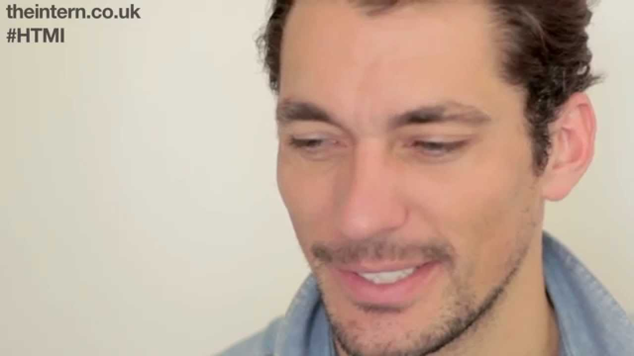 How To Make It Modelling Industry Extra Tips David Gandy Model