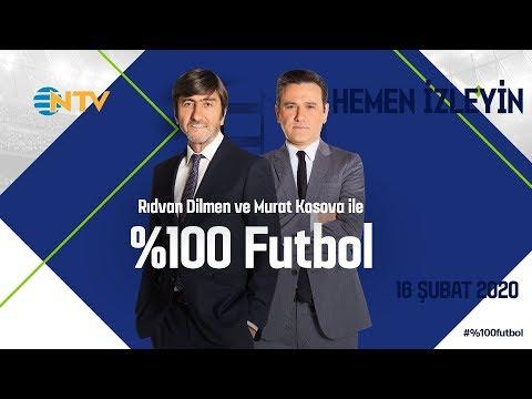 % 100 Futbol Galatasaray – Btc Türk Yeni Malatyaspor 16 Şubat 2020