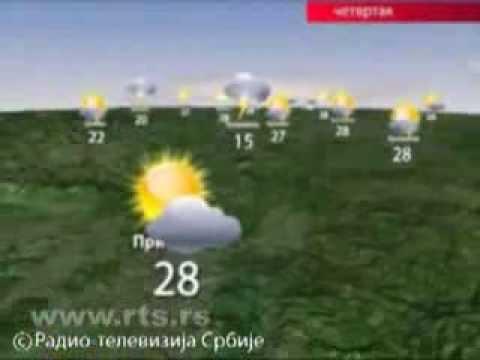 Prognoza Vremena Za 22. Avgust 2013