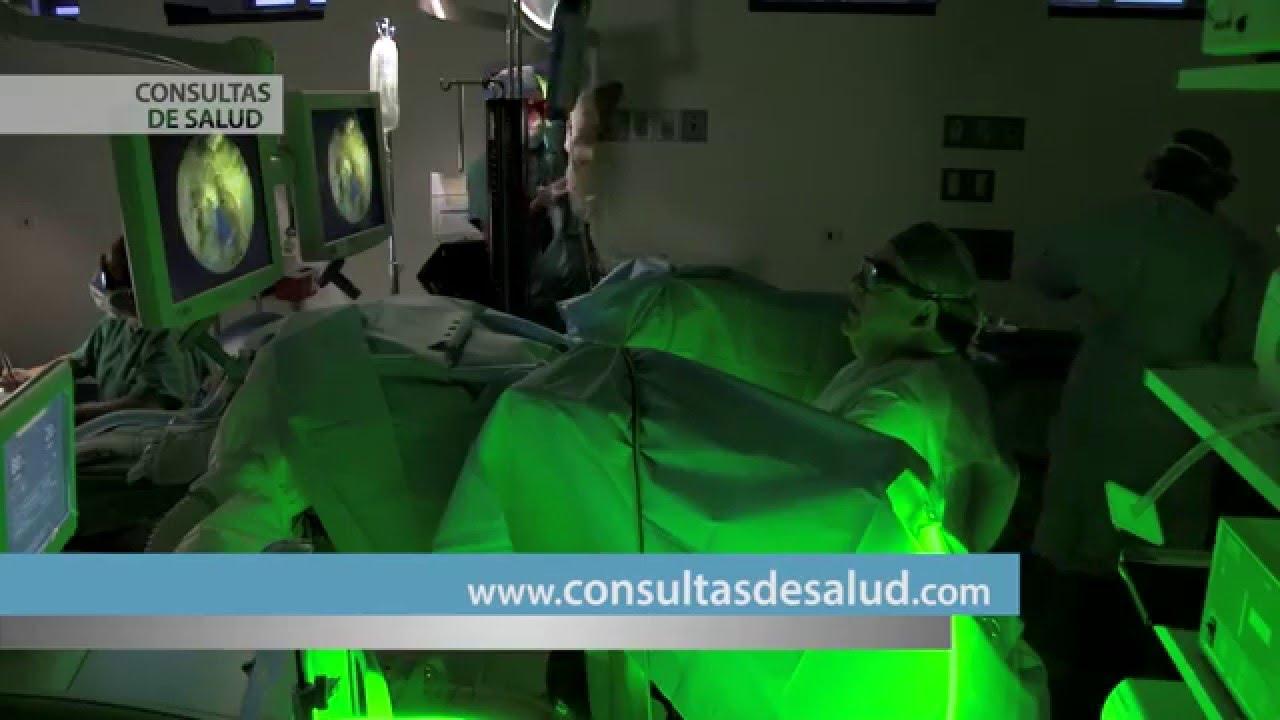 cirugia de prostata green laser light
