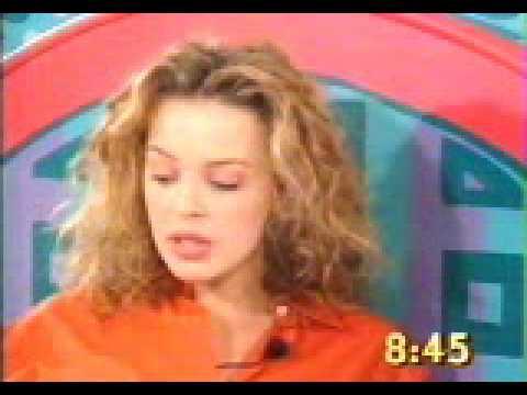 Kylie Minogue  The Big Breakfast 1993  Part 1