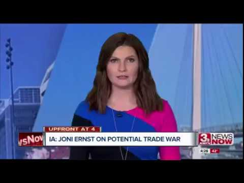 KMTV: Senator Ernst Discusses Trade and Tariffs with Iowa Farmers on 99 County Tour
