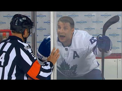 Penalty on Komarov came after repeated warnings from officials