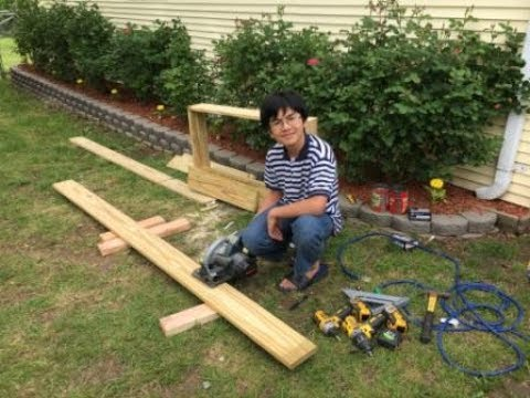 how to build cheap easy long lasting raised garden beds. Black Bedroom Furniture Sets. Home Design Ideas
