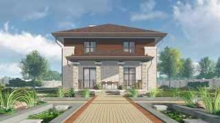 видео Готовые проекты домов площадью до 150 кв.м. – «Строй Экспресс»