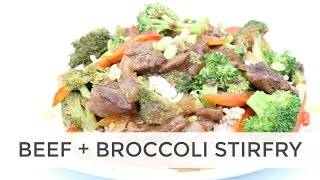 Grass Fed Beef and Broccoli Stir Fry | Easy DIY Chinese Take Out Recipe
