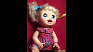 Hashbro Baby Alive 2012 Real Surprises Interactive Talking Doll English/Spanish