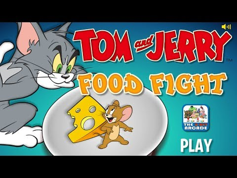 Tom And Jerry: Food Fight - Collect Food While Avoiding Danger (Boomerang Games)