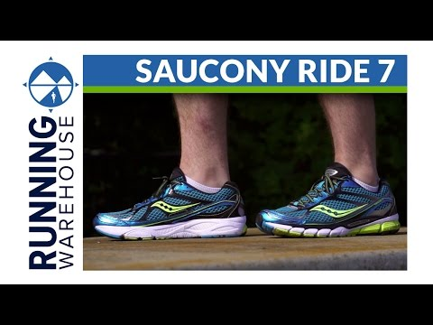 Saucony Ride 7 Shoe Review