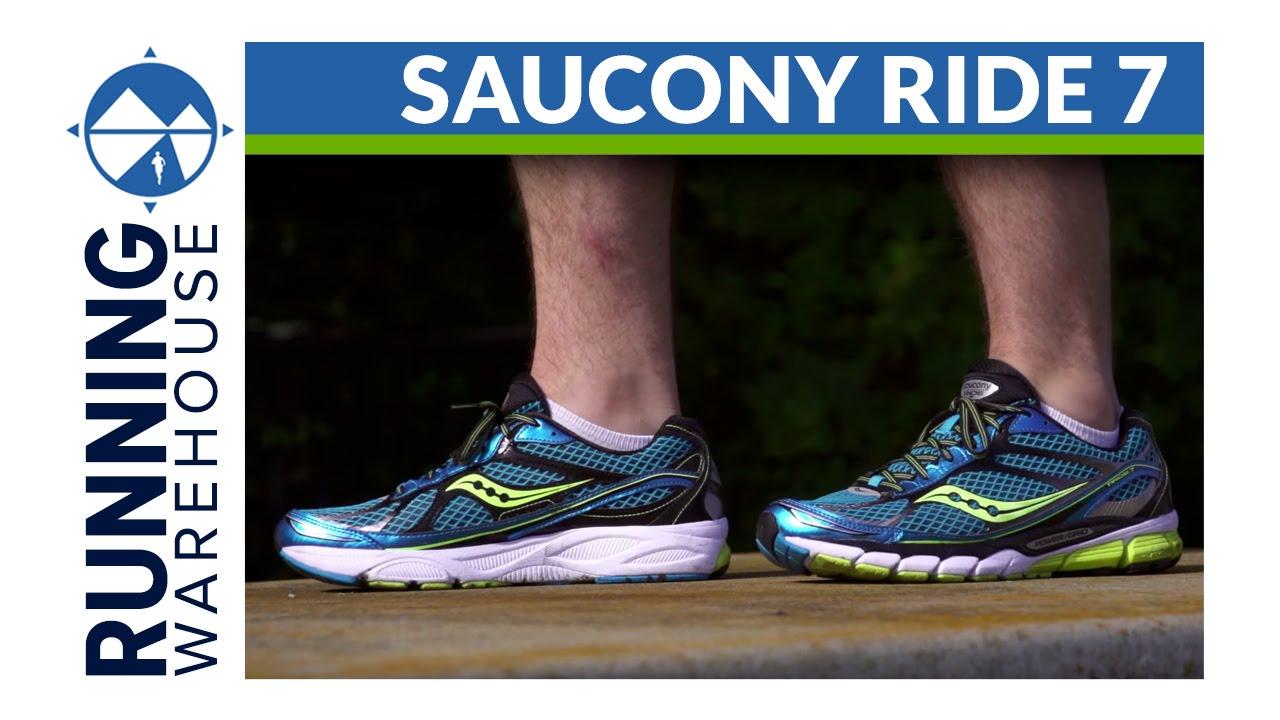 najlepsze buty szeroki zasięg ładne buty Saucony Ride 7 Shoe Review