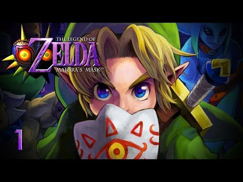 A TERRIBLE FATE - Let's Play - The Legend of Zelda: Majora's Mask - 1 - Walkthrough Playthrough