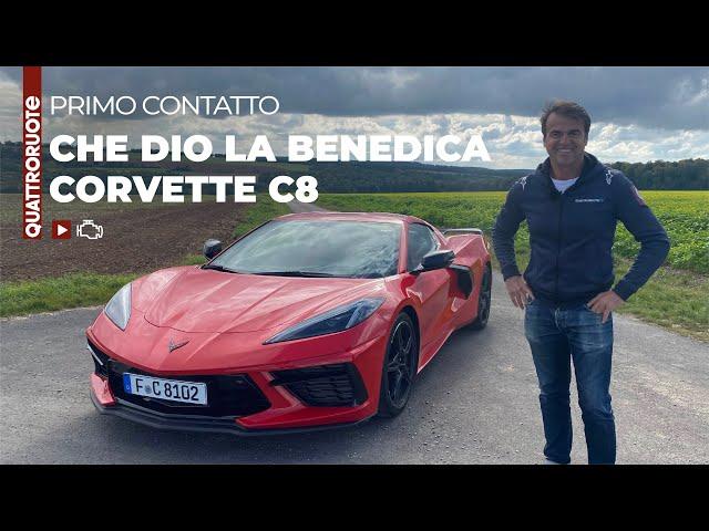 Corvette Stingray C8: rapporto euro/libidine imbattibile