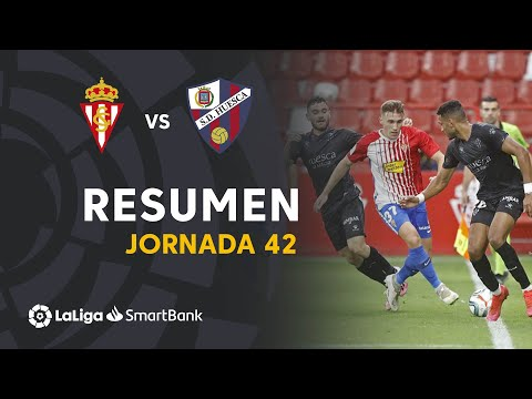 Gijon Huesca Goals And Highlights