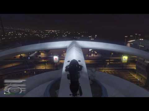 Wall Climb In Grand Theft Auto Online With A Motorcycle