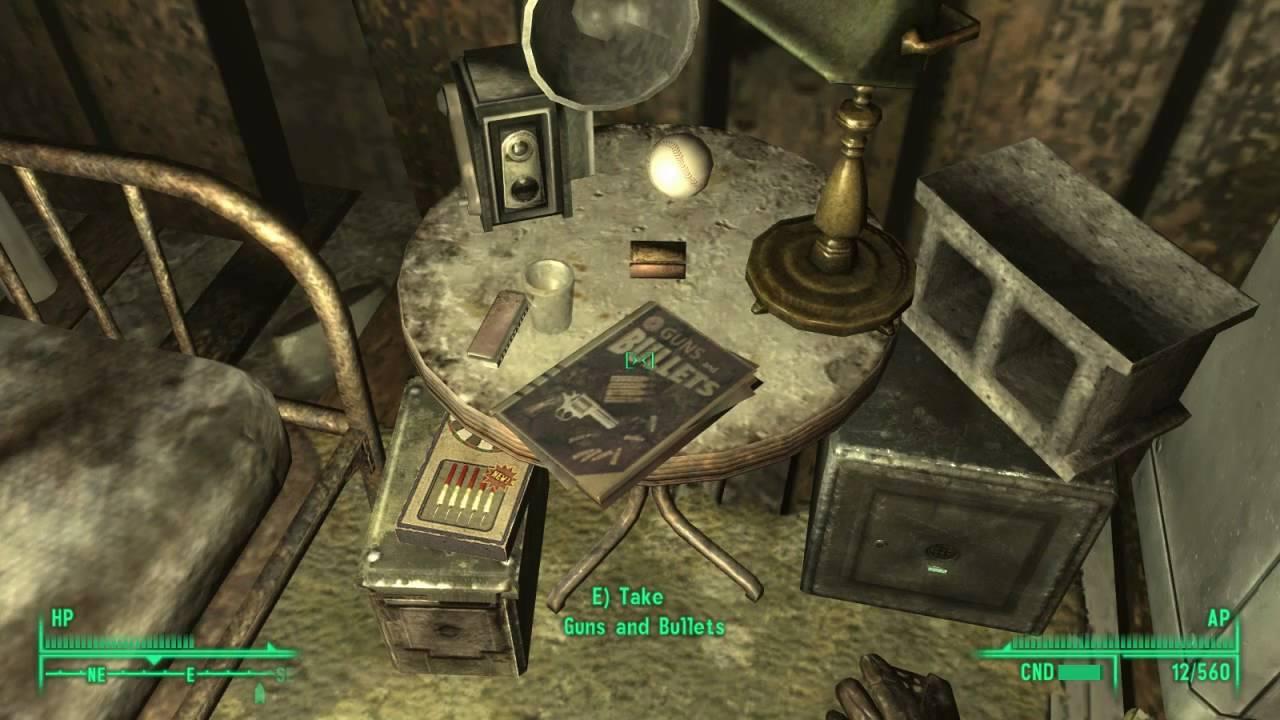 repair books fallout 3