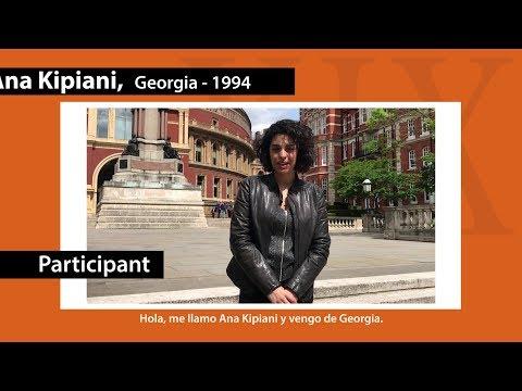 Ana Kipiani / Participant of the XIX Paloma O'Shea Santander International Piano Competition
