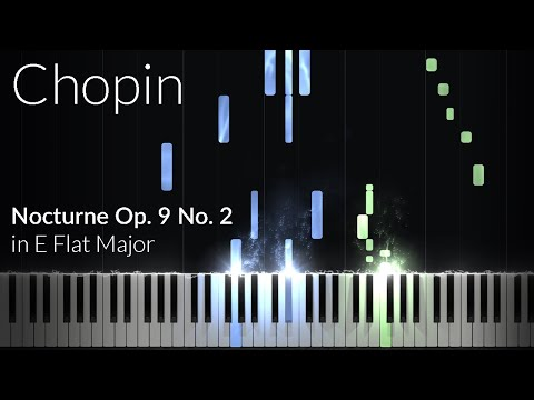 Nocturne Opus 9 No 2   Frederic Chopin Piano Tutorial Synthesia