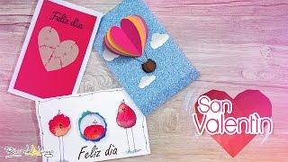 ♥ 3 Tarjetas de AMOR y AMISTAD | San Valentín ♥
