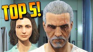 TOP 5 Personajes Famosos Recreados en Fallout 4! - HITLER, GERALT (Witcher) & Más!
