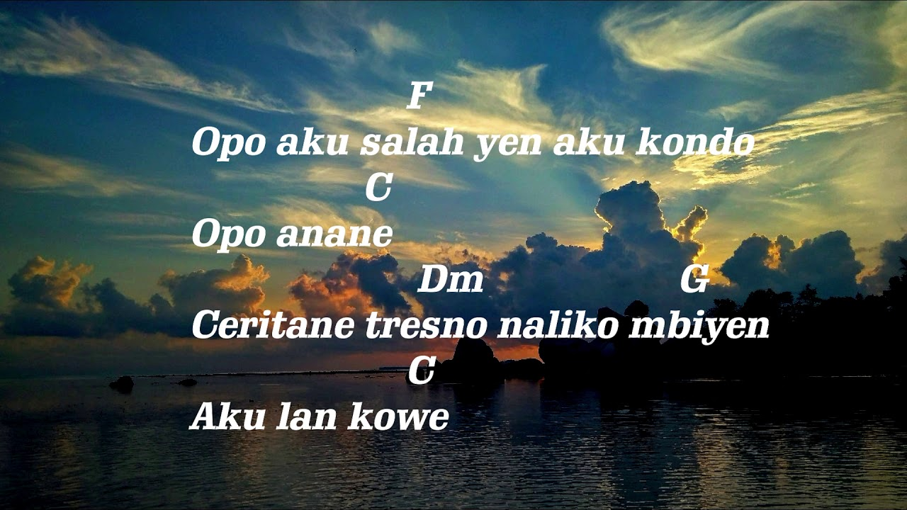 Happy Asmara Tatu Chord Mudah Youtube