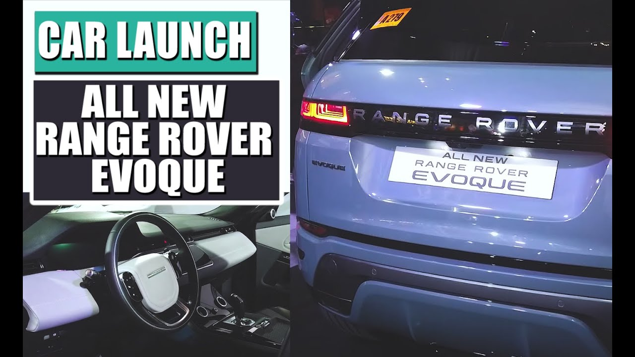 2019 Range Rover Evoque Launch