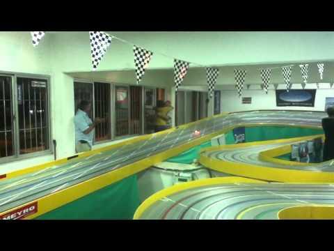 Inauguración pista Slot racing