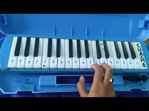 Not angka Indonesia Pusaka Pianika