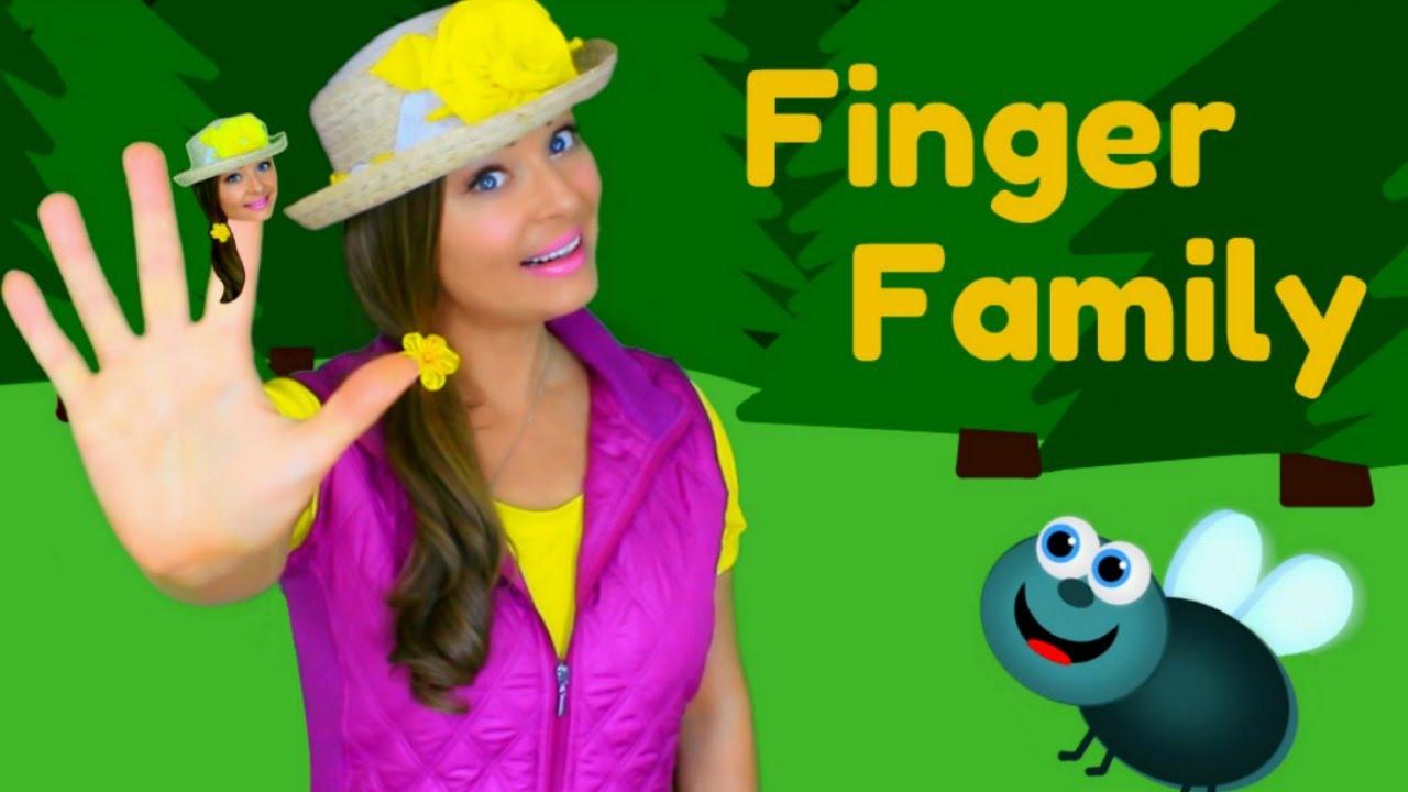 Finger Family Song Daddy Finger Nursery Rhymes For