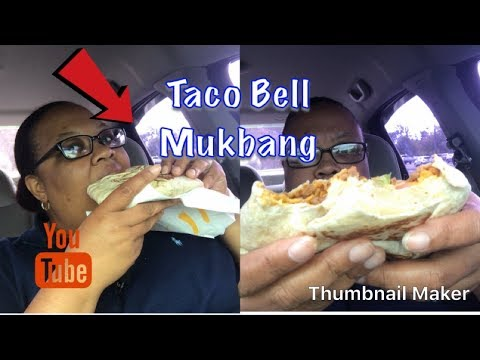 🎃Mukbang🎃 Taco Bell $5 Triple Crunch Box
