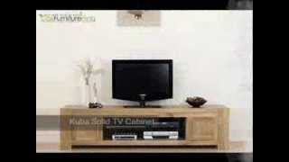 Kuba Solid Widescreen Tv Cabinet